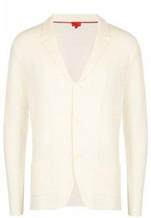 Пиджак ISAIA. Цвет: белый