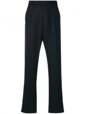Классические брюки Thom Browne. Цвет: синий
