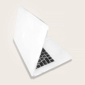 2шт Чехол для ноутбука 13,3 дюйма MacBook Air SHEIN. Цвет: прозрачный