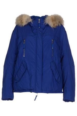 Куртка Jet Set. Цвет: синий
