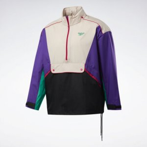 Ветровка Classics Trail Reebok. Цвет: regal purple / buff