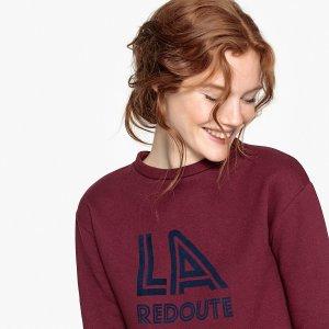Свитшот La Redoute. Цвет: красный