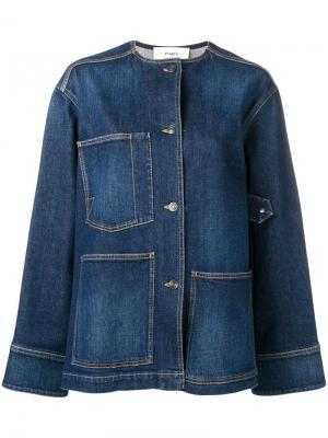 Джинсовая куртка с круглым вырезом Ports 1961