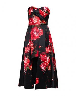 Платье до колена BLACK HALO EVE by LAUREL BERMAN. Цвет: черный