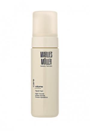 Мусс для укладки Marlies Moller Volume восстанавливающий структуру волос 150 мл. Цвет: белый