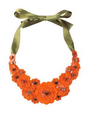 Ожерелье LIBERTY London. Цвет: оранжевый