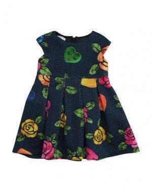 Платье ELSY. Цвет: темно-синий