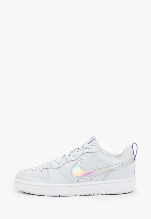 Кеды Nike COURT BOROUGH LOW 2 FP (GS). Цвет: голубой