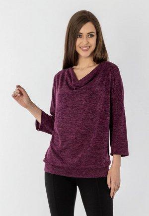 Джемпер S&A Style. Цвет: фиолетовый