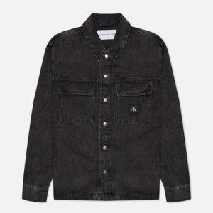 Мужская джинсовая куртка Utility Denim Calvin Klein Jeans. Цвет: чёрный