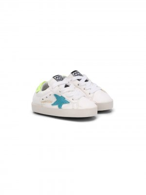 Кеды Superstar Golden Goose Kids. Цвет: белый