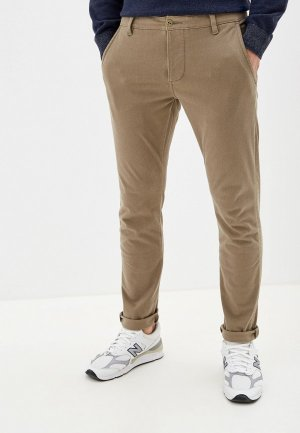 Брюки Dockers SMART SUPREME FLEX ALPHA SKINNY. Цвет: хаки