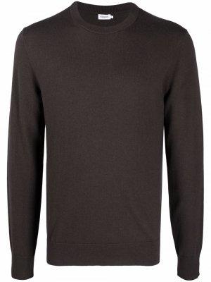 Джемпер с круглым вырезом Filippa K. Цвет: коричневый