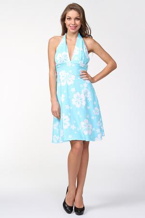 Платье Eva Franco. Цвет: голубой