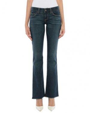 Джинсовые брюки JOIE. Цвет: синий