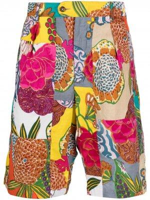 Шорты чинос Sunset Engineered Garments. Цвет: разноцветный