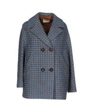 Пальто MOMONÍ. Цвет: лазурный