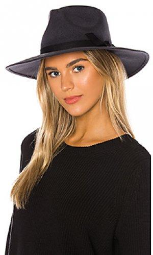 Шляпа федора peyton ale by alessandra. Цвет: серый