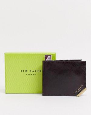 Кредитница коричневого цвета -Коричневый Ted Baker
