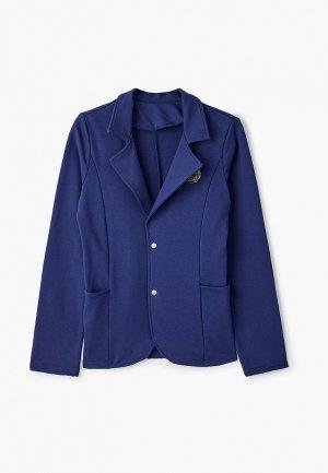 Пиджак Looklie. Цвет: синий