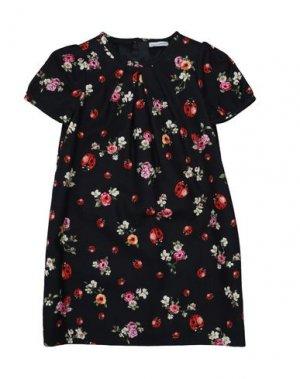 Платье DOLCE & GABBANA. Цвет: черный