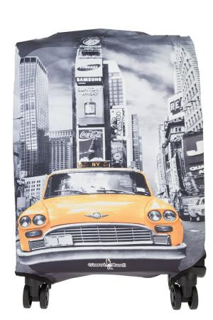 Чехол на чемодан Gianni Conti. Цвет: серый