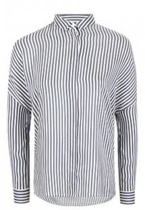 Блуза PESERICO. Цвет: синий
