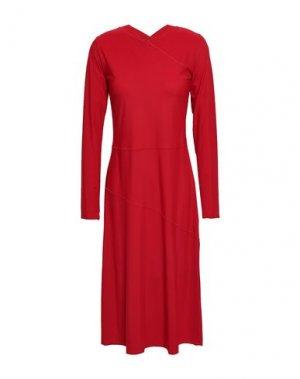 Платье до колена FILIPPA K. Цвет: красный