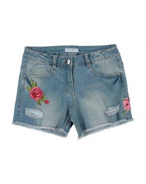 Джинсовые шорты ELSY. Цвет: синий