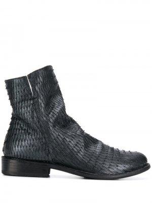 Ботинки Elf Peltro Fiorentini + Baker. Цвет: черный