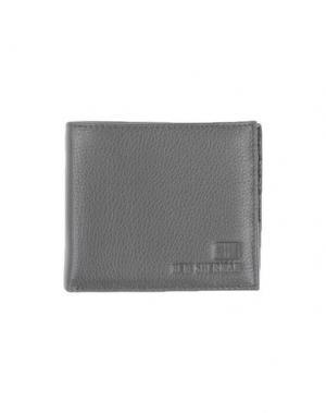 Бумажник BEN SHERMAN. Цвет: свинцово-серый