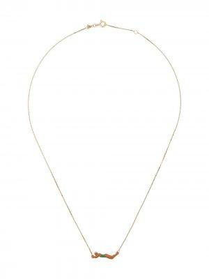 Золотая цепочка на шею Nadadora Aliita. Цвет: золотистый