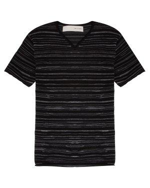 Пуловер UK14S19 xl черный+белый Isabel Benenato. Цвет: черный+белый