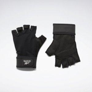 Перчатки One Series Wrist Reebok. Цвет: black
