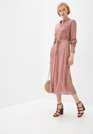 Платье Baon. Цвет: розовый