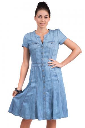 Платье Apanage. Цвет: голубой