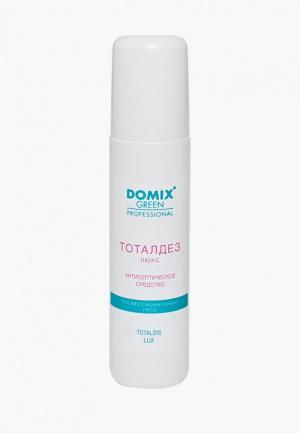 Антисептическое средство Domix TOTAL DISINFECTANT LUX Тоталдез ЛЮКС  противогрибковое средство, для обработки рук и ступней ног. Цвет: прозрачный
