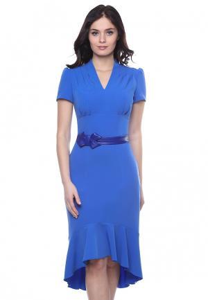 Платье Grey Cat ESENIA. Цвет: голубой