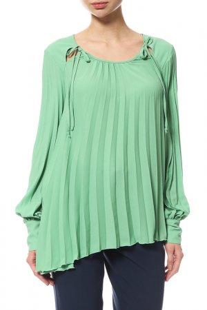 Блуза Denny Rose. Цвет: зеленый