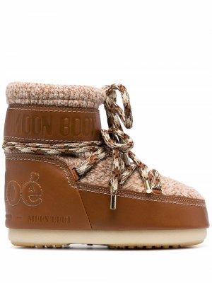 CHLOÉ x MOON BOOT Boots Woman. Цвет: коричневый