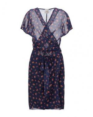 Короткое платье ..,MERCI. Цвет: темно-фиолетовый