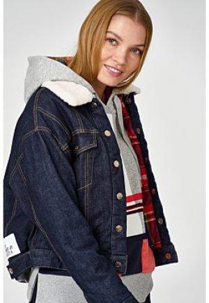 Джинсовая куртка с отделкой S.Oliver