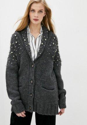 Кардиган Juicy Couture. Цвет: серый