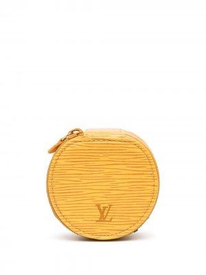 Шкатулка Epi 2000-х годов Louis Vuitton. Цвет: желтый