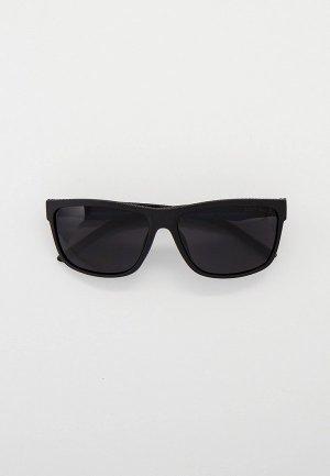 Очки солнцезащитные Thom Richard с поляризацией. Цвет: коричневый