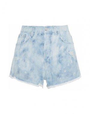 Джинсовые шорты DEREK LAM 10 CROSBY. Цвет: синий