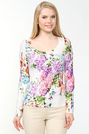 Блуза Adzhedo. Цвет: разноцветный