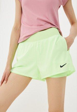Шорты спортивные Nike W NKCT VCTRY DF SHRT. Цвет: зеленый