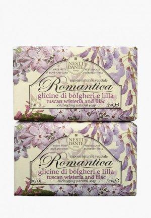 Набор для ухода за телом Nesti Dante Мыло Tuscan Wisteria & lilac / Глициния и сирень, 2*250г. Цвет: разноцветный