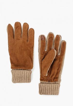 Перчатки Gap. Цвет: коричневый